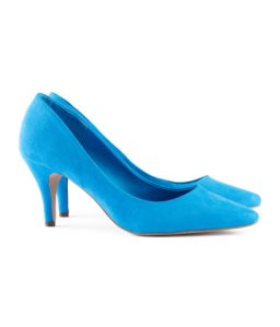 H&M blue pumps