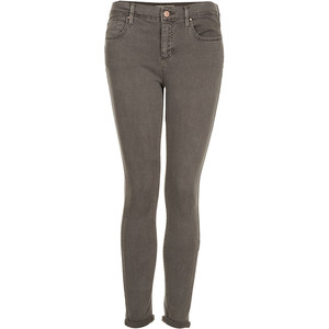 Top Shop Grey Skinny Jeans $76